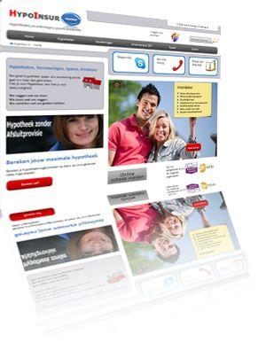 Printscreen van de website HypoInsur.nl