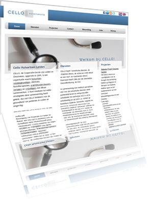 Printscreen van de website Leidenhuisarts.nl